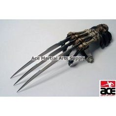 I found 'Zombie Gear Demon Bones Tri-Bladed Fantasy Hand Claw' on Wish, check it out!