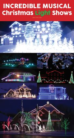 Christmas Light Shows With Music