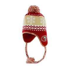 45da183b0e304c 49ers Abomination Sherpa Knit Hat -$22.99 Knitted Beanies, Knit Beanie,  Football Hall Of