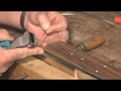 Chapter 22 Installing frets - YouTube