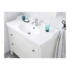RÄTTVIKEN Sink, 1 bowl, white white 39 3/8x19 1/4x2 3/8