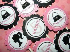 Barbie Birthday Party Barbie Birthday Party by APartyWithPaper, $20.00