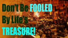 Distracted by Life's Treasures, AVOID SIN! come to goodness, abdul karim The Fool, Devil, Islam, Neon Signs, Life, Muslim