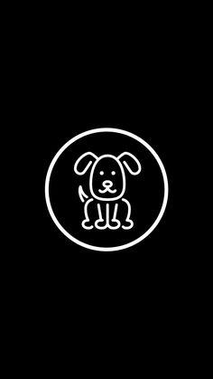 Black Highlights, Story Highlights, Story Instagram, Instagram Logo, Dark Wallpaper, Wallpaper Quotes, Dog Icon, Insta Icon, Instagram Highlight Icons
