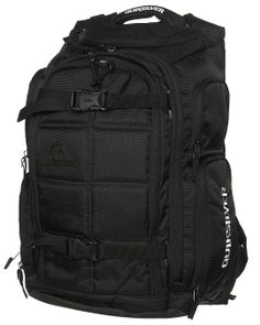 QUIKSILVER GRENADE BACKPACK - BLACK Style. HQMBP212 The guy is packed to the rafters with features including skate carry straps, Music centre and port, A4 compatible, laptop compartment and multiple external pockets. One wicked backpack just for you guys! Features: Made from Nylon dobby / 600D polyester Skate carry straps Music centre and port A4 compatible Laptop compartment Multiple external pockets Dimensions: Height 50cm x Length 34cm x Width 29cm