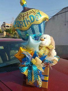 Balloon Box, Balloon Gift, Balloon Flowers, Balloon Bouquet, Balloon Arrangements, Balloon Centerpieces, Balloon Decorations, Happy Birthday Bouquet, Birthday Gifts