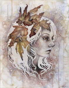 Traditional Illustrations by Kelly McKernan