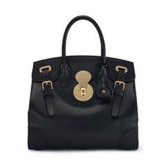 84bd05bdc5cfcf Trouvez votre sac à main confectionné en cuir luxueux dans la collection  haut de gamme Ralph Lauren pour femmes. Expédition offerte. Ralph Lauren