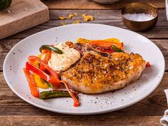 Sommerkoteletter med stekt paprika Salmon Burgers, Turkey, Ethnic Recipes, Food, Turkey Country, Essen, Meals, Yemek, Eten