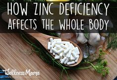 How Zinc Deficiency Affects The Whole Body Zinc deficiency can affect immune function, skin hair and even pregnancy. Zinc from food or supplements is needed for fertility, pregnancy, and nursing. Wellness Mama, Health And Wellness, Health Fitness, Women's Health, Wellness Tips, Healthy Habits, Healthy Tips, Zinc Supplements, Health Tips