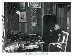 Gustav Mahler, Offices, Contemporary, Image, Art, Work Desk, Art Background, Kunst, Performing Arts