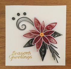 Quilling Card Christmas