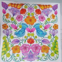 """Finish! @milliemarotta #milliemarottabooks #love #malbuch #malbuchfürerwachsene #entspannen #weekend #johannabasford #paint #color #colorful #beautyful…"""