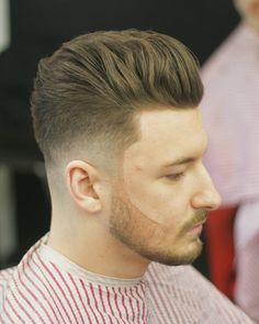 Fade + Pompadour = the art and science of a healthy shave http://lifequalityexaminer.com/smart-men-confidence/
