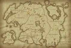 A Map Of All Of Tamriel | Political Map of Tamriel 4E193 - Revised by ~Jakhajay on deviantART