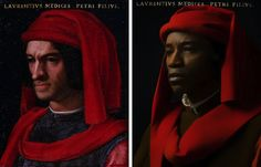 Modern Photographic Recreations of Classic Renaissance Portraits - My Modern Met