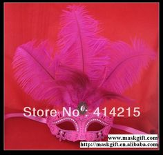 Cheap masquerade masks lace, Buy Quality masquerad mask directly from China mask with feather Suppliers:Big discount!!! Free shipping Top48 Pcs Free Shipping Wholesale Hot Pink Venet