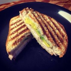 Grilled Turkey, Avocado & Provolone Panini Sandwich | Small Town Living in Nevada