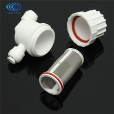 2 Points Quickly Pick Up Micro Filter Water Purifier Front Facing Stainless Steel Wire Mesh Filter Home Appliance Parts