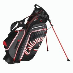 Callaway Hyper-Lite 5 Stand Bag When constructing the Hyper-Lite 5 Stand Bag, the designers at Callaway combined lightweight material, multiple pockets and a reworked stand to create our best performing stand bag to date. Golf Stand Bags, Golf Bags, Mini Cooler, Hip Pads, Cleveland Golf, Bags 2015, Golf Stores, Callaway Golf, Taylormade