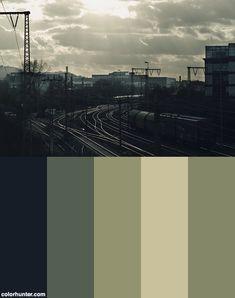Post Apocalyptic Art, Post Apocalyptic Fashion, Colour Pallete, Color Schemes, Color Palettes, City Aesthetic, Aesthetic Colors, Post Apocalypse, Apocalypse Fashion