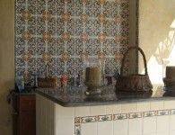 Decorative Ceramic Tiles Kitchen Fascinating In Love With This Tile Backsplash Hand Paintedmizner 2018