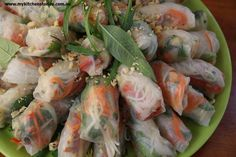 Ready to eat Rice Paper rolls MKS