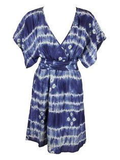 Calypso Womens Cassandra Tie Dye Silk Kimono « Clothing Adds Anytime