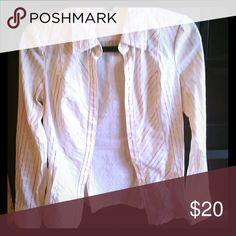 Chic gold threaded top Fabulous top Express Tops Button Down Shirts