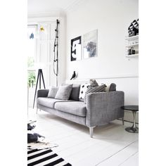 Sofa Grises Decorating Grey Living Room Ideas To Adapt In 2016 Bored Art. 26 Small Living Room Designs With Taste DigsDigs. Another Functional Workspace Idea For Our Living Room Bars For Home Home Table Behind Couch. Living Room Grey, Home Living Room, Living Room Decor, Living Spaces, Decor Room, Small Living, Living Area, Bedroom Decor, Living Room Inspiration
