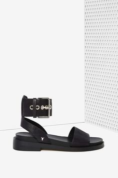 Windsor Smith Whirl Leather Sandal