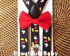 Mickey Mouse ha ispirato le bretelle e Papillon MO. 6 a 5