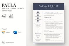 Creative resume format for Freshers. Internship Resume template for MS Word and Mac Pages. Simple CV format and Cover Letter examples + References Templates for Resume Cover Letter Format, Cover Letter For Resume, Cover Letter Template, Modern Resume Template, Resume Design Template, Resume Templates, Resume Cv, Resume Writing, Writing Tips