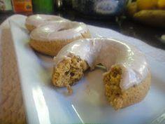 Mom, What's For Dinner?: Vanilla Pumpkin Spice Doughnuts