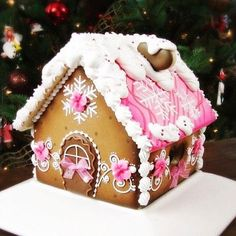It's almost 50 degrees, sunny and no sign of @blysscookies ...christmas cookies gingerbread house