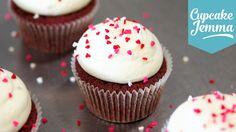 Perfect Red Velvet Cupcake Recipe   Cupcake Jemma