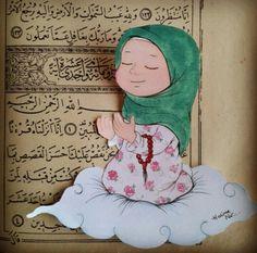 hijab anime Dua e. Character Sketches, Character Drawing, Cartoon Girl Drawing, Cartoon Drawings, Hijab Drawing, Islamic Cartoon, Anime Muslim, Hijab Cartoon, Clipart Baby