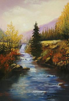 """""""Wyoming Wonder"""" Pastel Painting by Sandy Young"""