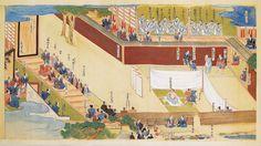Ōishi Kuranosuke (大石内蔵助) committing seppuku