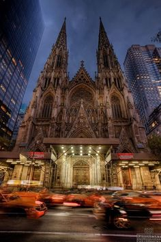 St. Patrick's Cathedral ~ Manhattan, New York City….