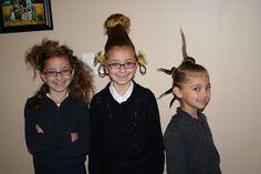 Whoville Hairdos