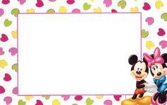 Ayuda con invitaciones de mickey y minnie Dulceros Halloween, Minnie Mouse, Name Stickers, Disney Mickey, Disney Characters, Fictional Characters, Google, Preschool Halloween, Birthday Cards