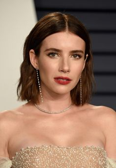 Hairstyle trend Oscars the best bob cuts on the red carpet, on best bobsc .Oscars 2019 hairstyle trend: The best bob cuts on the red carpet, on best bobsled the die Oscars 2019 hairstyle Modern Bob Hairstyles, Hairstyles Haircuts, Red Carpet Hairstyles, Red Carpet Updo, Oscar Hairstyles, Red Carpet Makeup, Bobs For Thin Hair, Wavy Bobs, Red Bob Hair