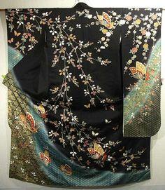 Furisode #273651 Kimono Flea Market ICHIROYA