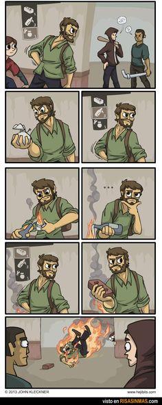 La lógica de los videojuegos: cóctel molotov.