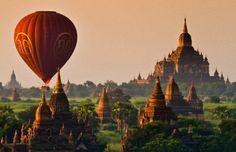 Gidsen in Myanmar (Birma)