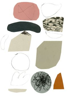 Claire Softley, pattern, design, printmaking, texture, mark making, collage, colour, abstract
