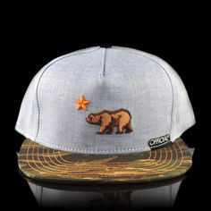 Cali Dolo Chambray Hat Camo, $27, now featured on Fab.