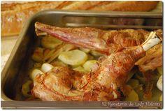 El Recetario de Lady Halcon: Paletilla de cordero asada al estilo aragonés