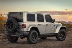 Jeep s relation with moab is about to go on a new level with the introduction of the jeep wrangler moab edition. based on the four-door jeep wrangler (. Jeep Sahara, Jeep Wrangler Sahara, Jeep Wrangler Silver, Silver Jeep, New Wrangler, Jeep Rubicon, Jeep Wrangler Unlimited, Four Door Jeep, Jeep Clothing